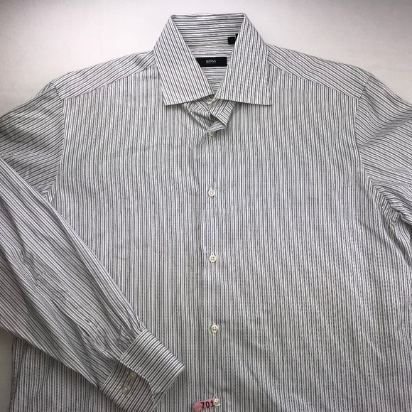 7aefe1284 Hugo Boss Shirts | Button Down Shirt Sz 155 3233 | Poshmark
